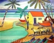 Boy with Sheep, Platinum Coast