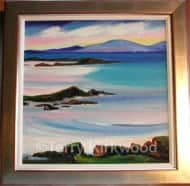 South Uist from Barra