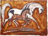 Arab Mare & Foal